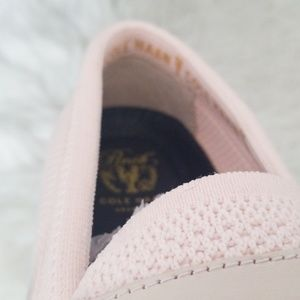 Cole Haan Shoes - NEW Cole Haan - Nantucket Knit Loafers, Pink